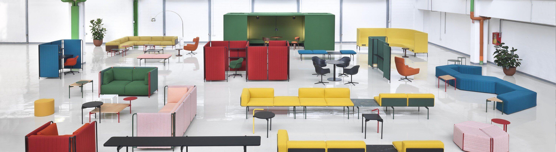 Mobilier acoustique PARAVENT pour espace de coworking
