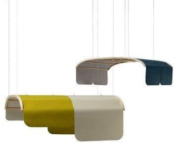 Cloison acoustique design TONNELLE