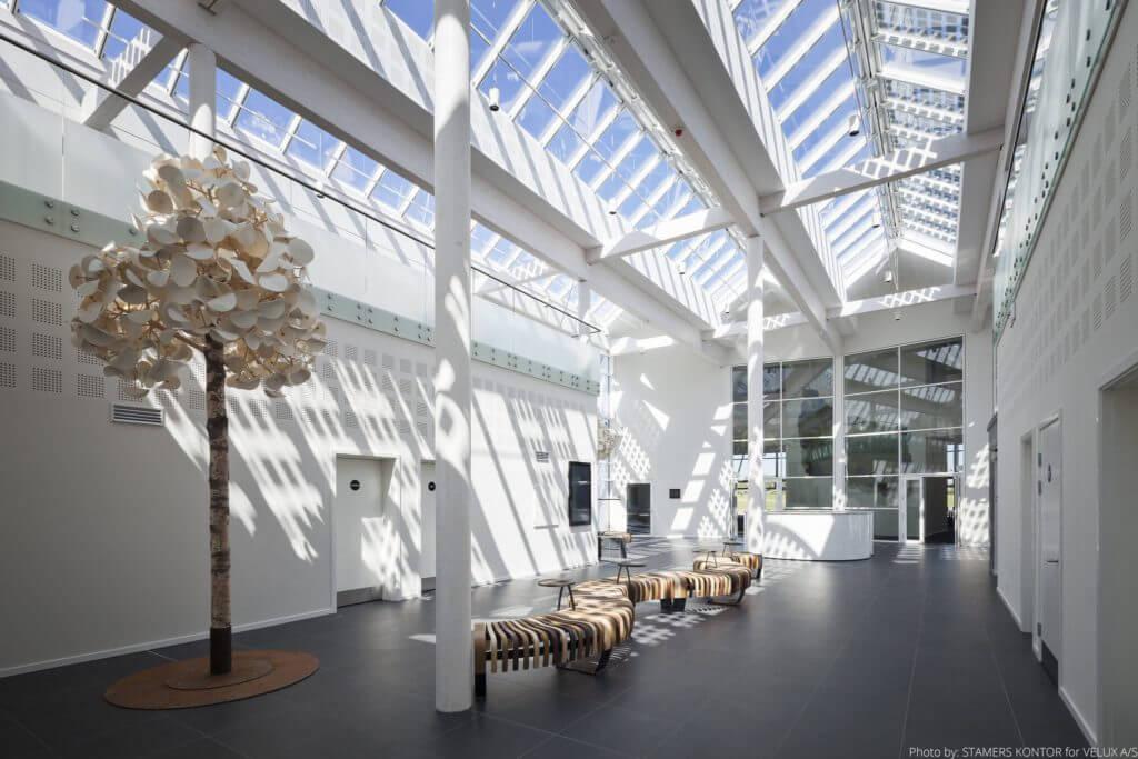 Mobilier acoustique design pour hall d'accueil