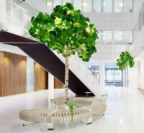 Luminaire acoustique design ARBRE