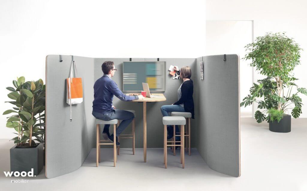 Bulle de réunion design