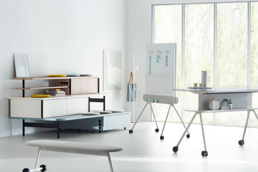 Mobilier de coworking agile ARENA