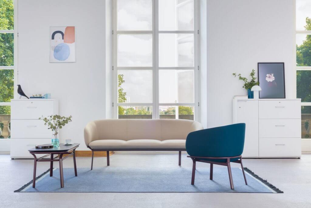 Canapé et fauteuil économiques GRACE
