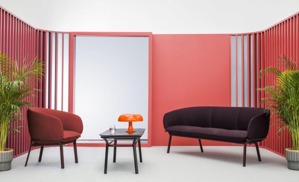 Fauteuil, canapé et table basse GRACE