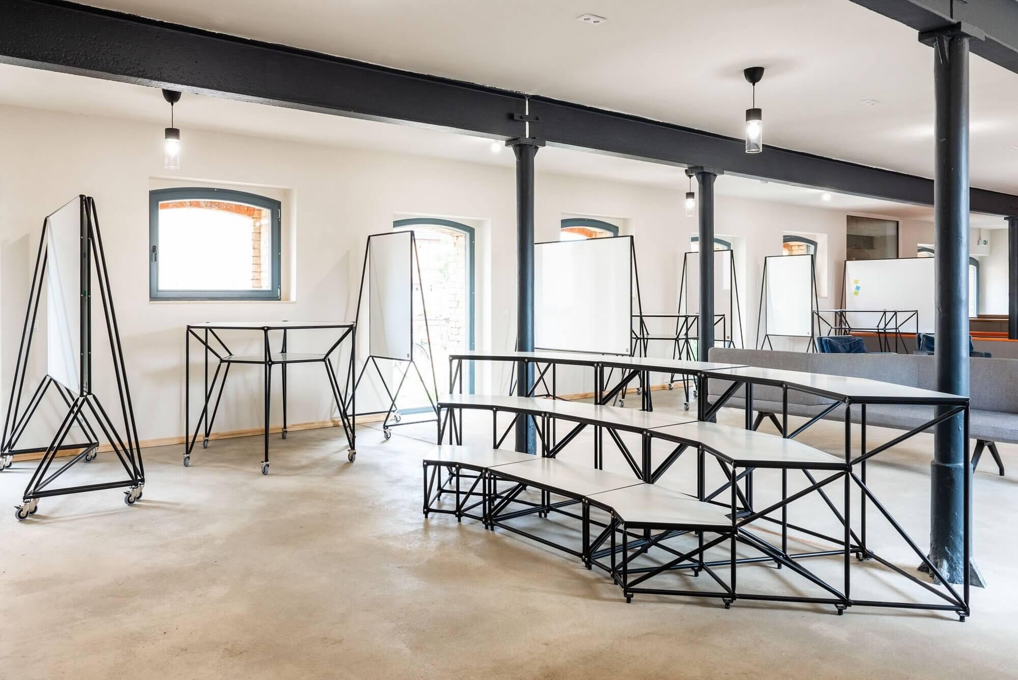 Un aménagement de mobilier professionnel innovant