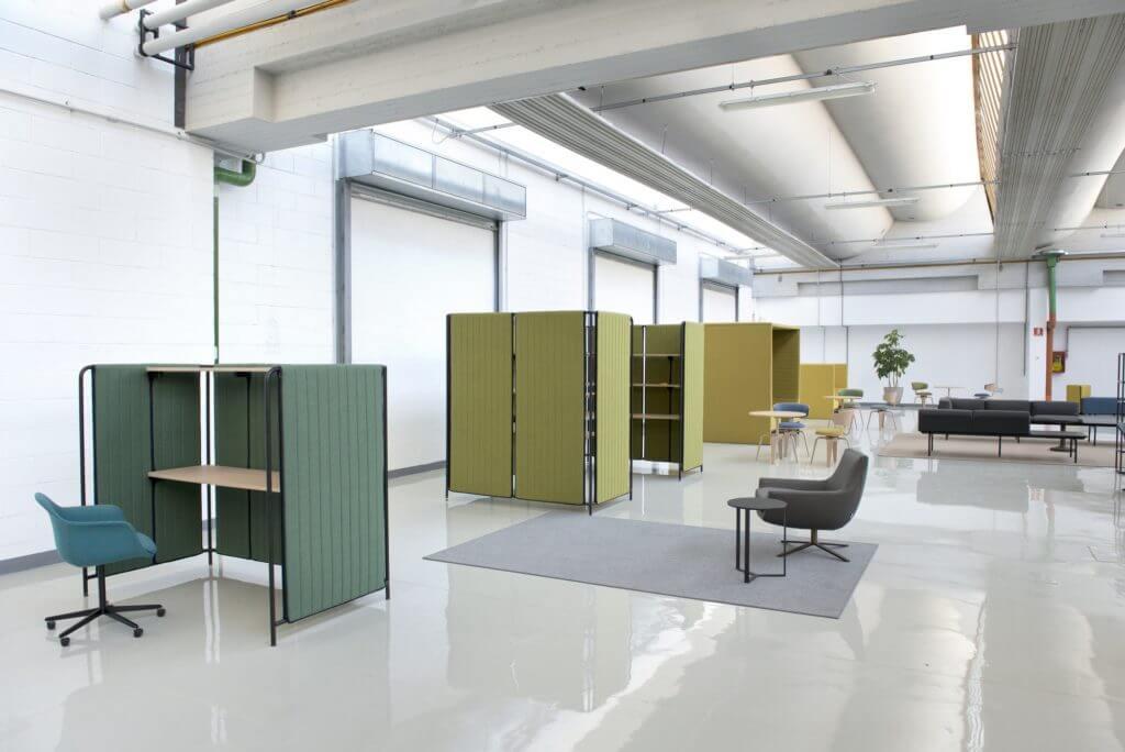Alcôve acoustique pour open space