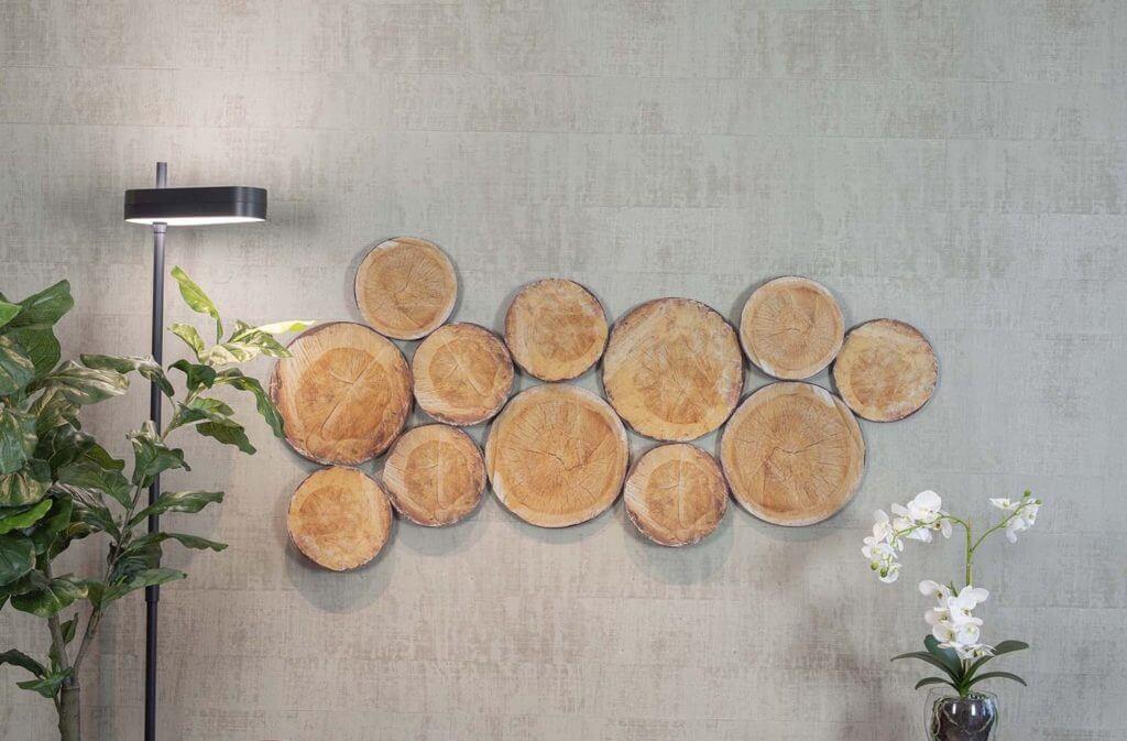 Tranches de bois acoustiques RONDIN