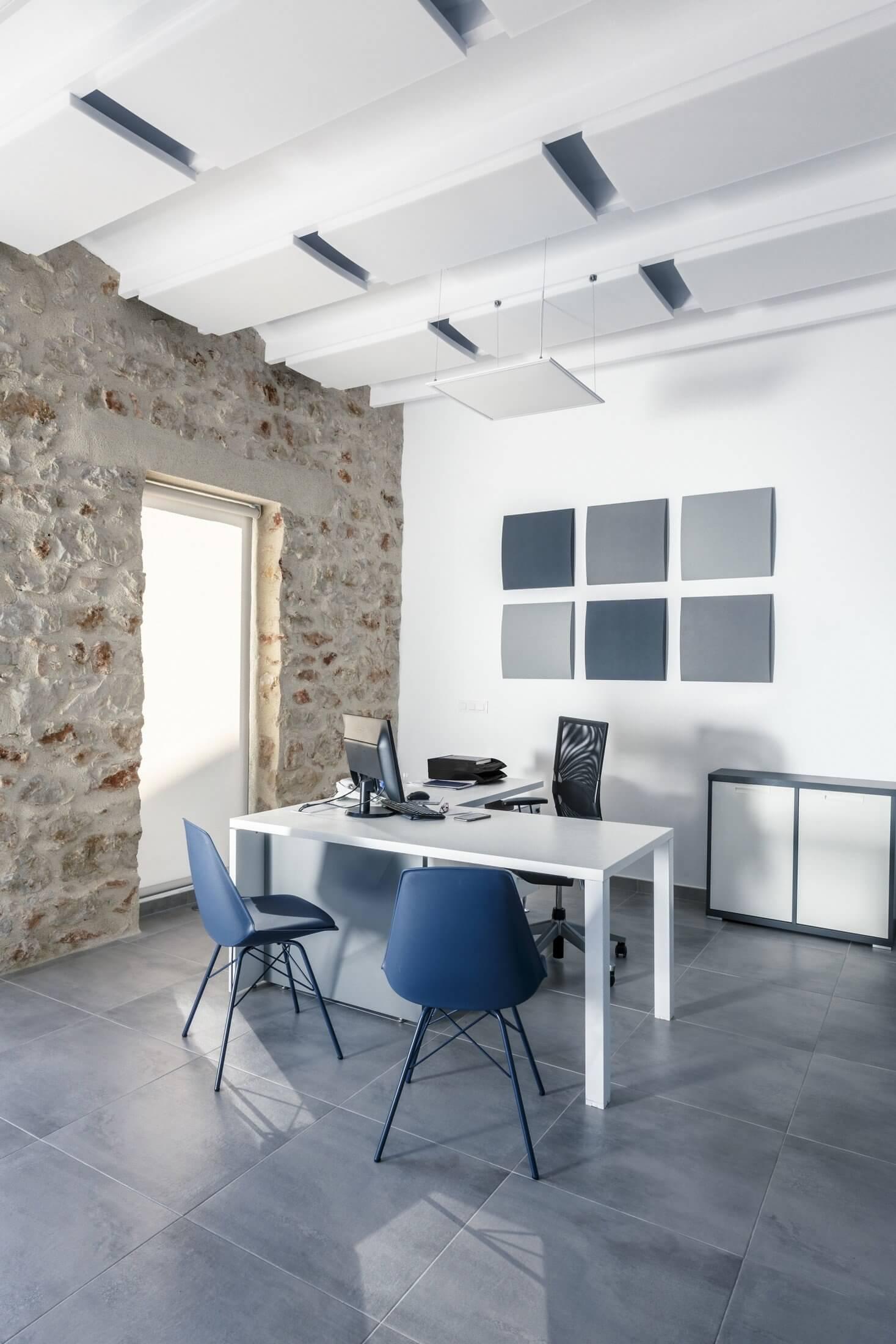 Panneau acoustique pour les bureaux et les open space.