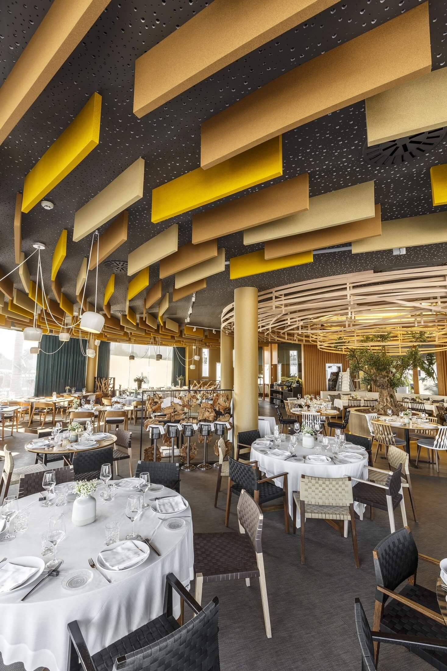 Panneau acoustique de plafond design FAME.