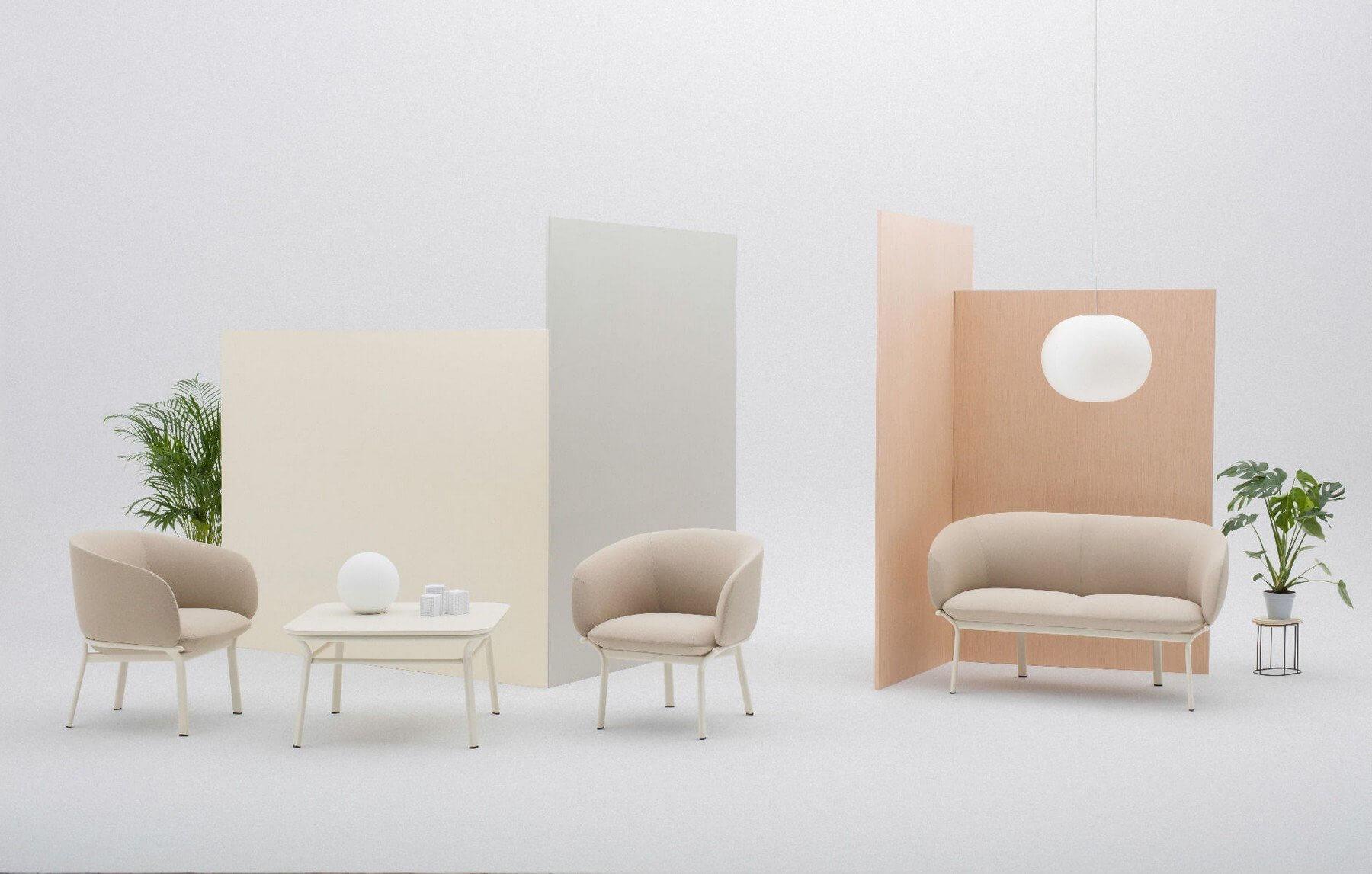 Mobilier lounge design économique