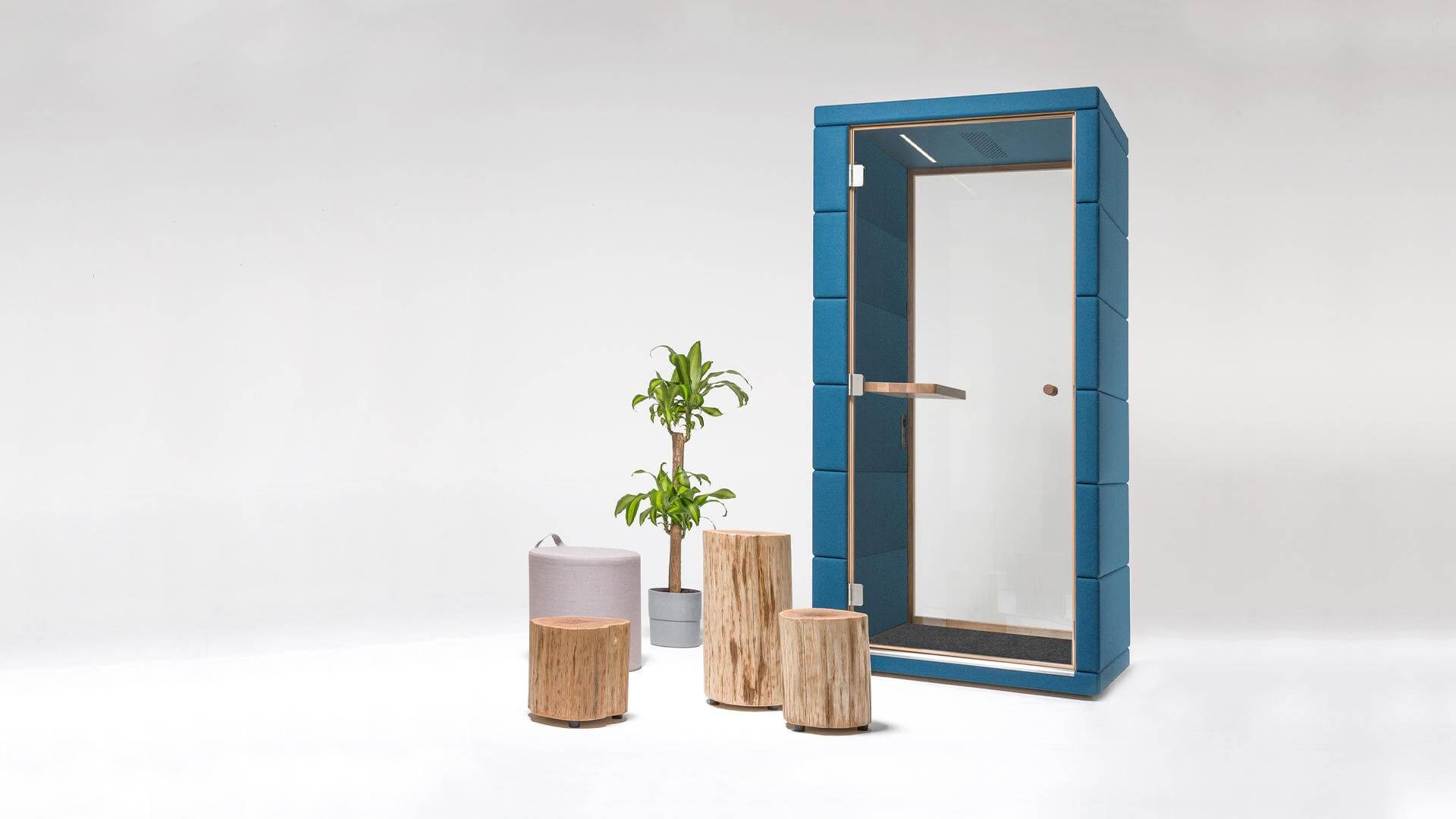 Cabine phone booth acoustique