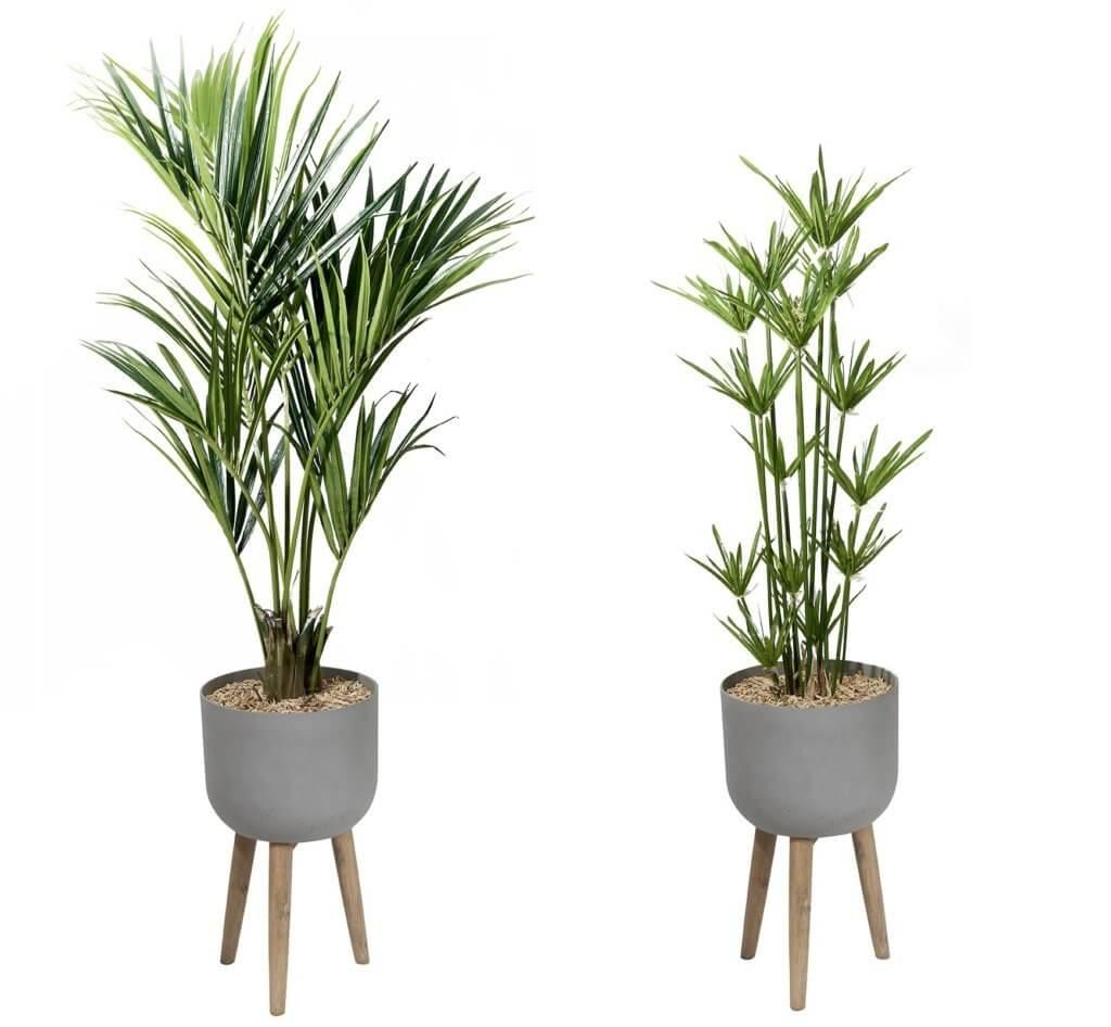 Plantes en pot artificielles