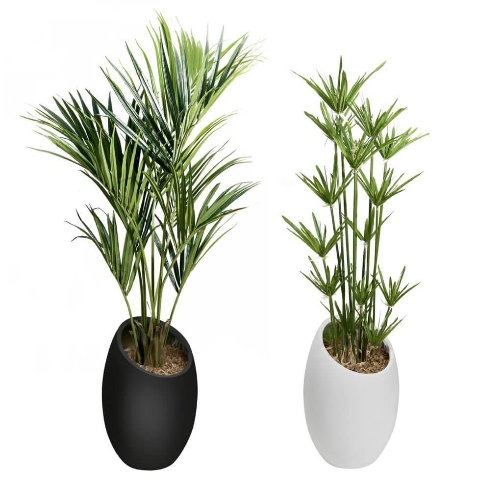 Plantes artificielles décoratives pour l'accueil