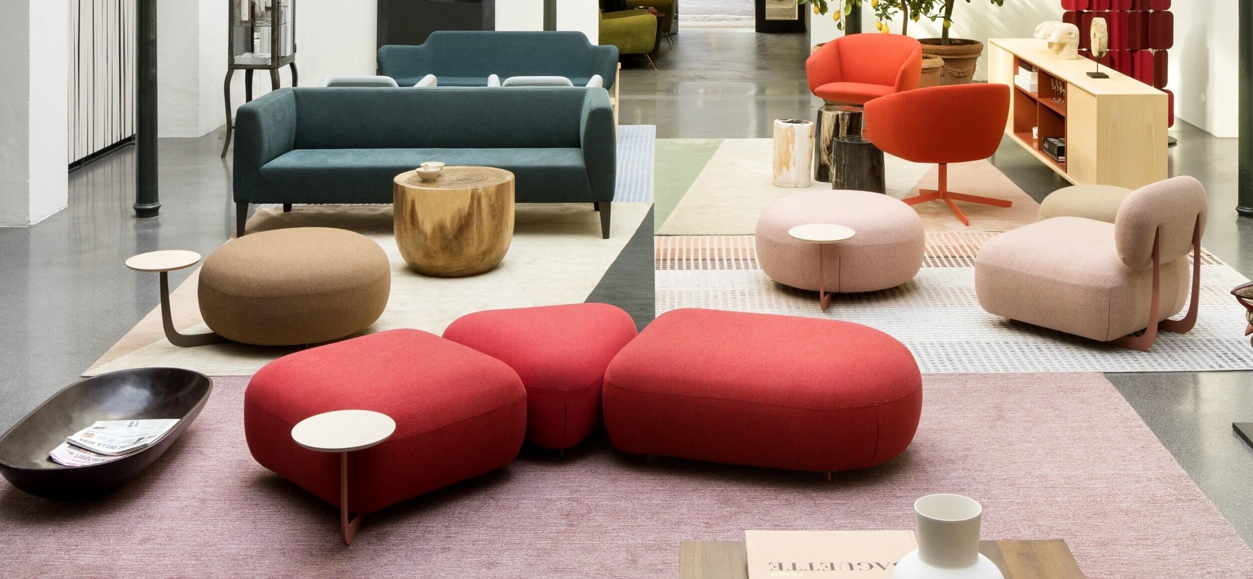 Pouf design lounge haut de gamme
