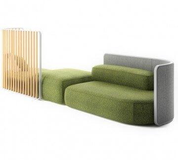 Sofa galet haut de gamme KIP