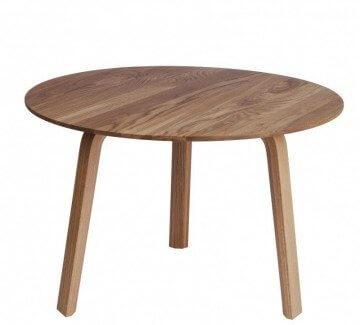 Table basse scandinave pour fauteuil lounge