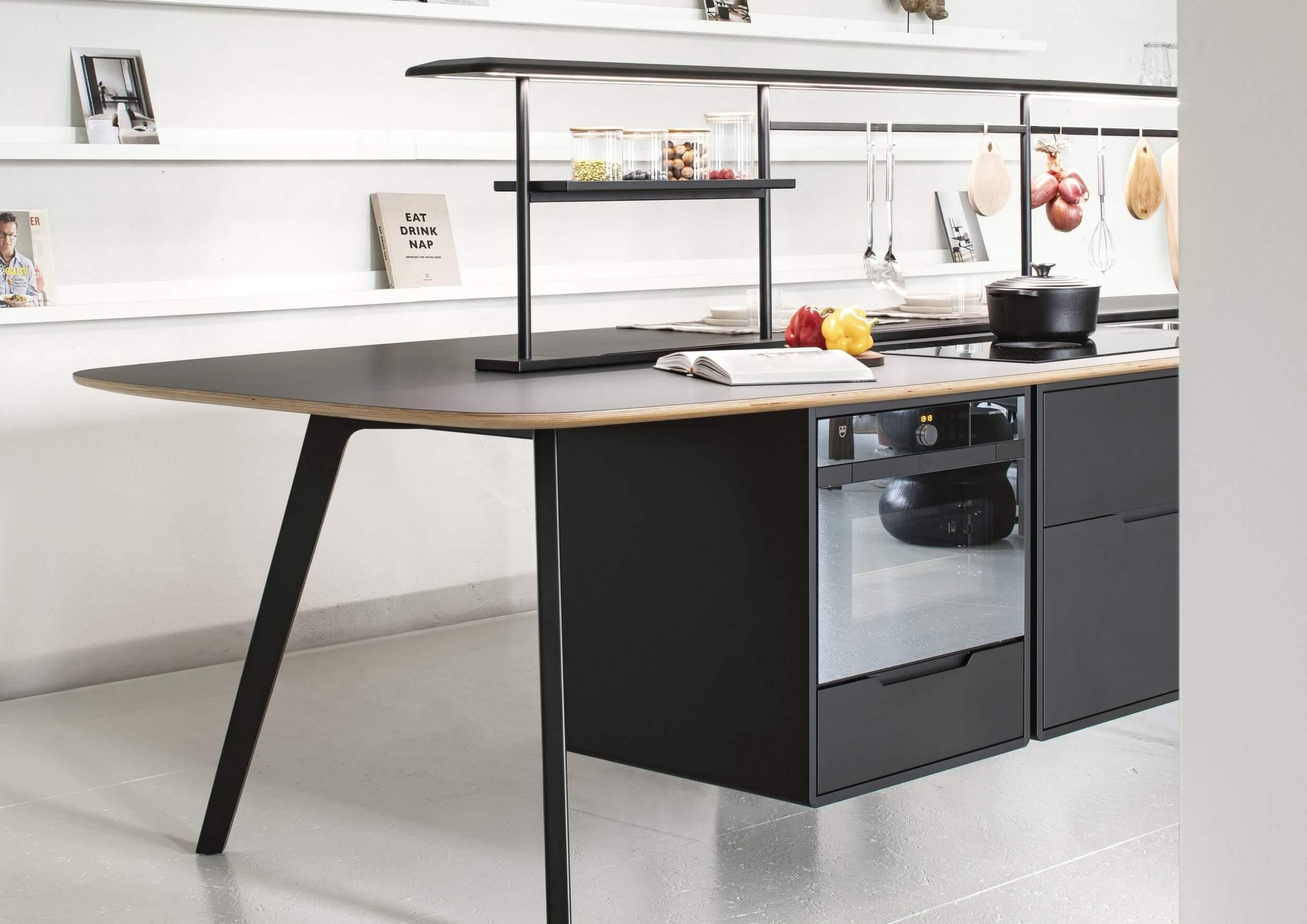 Mobilier de cuisine d'entreprise WING KITCHEN