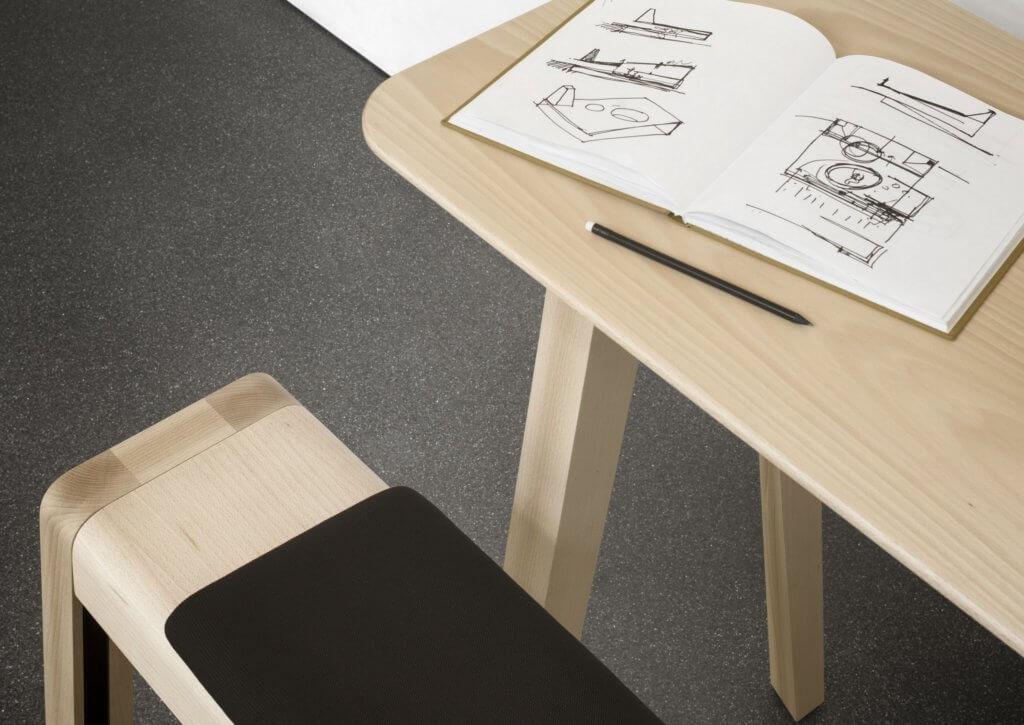 Table haute pour cafétéria ECHO