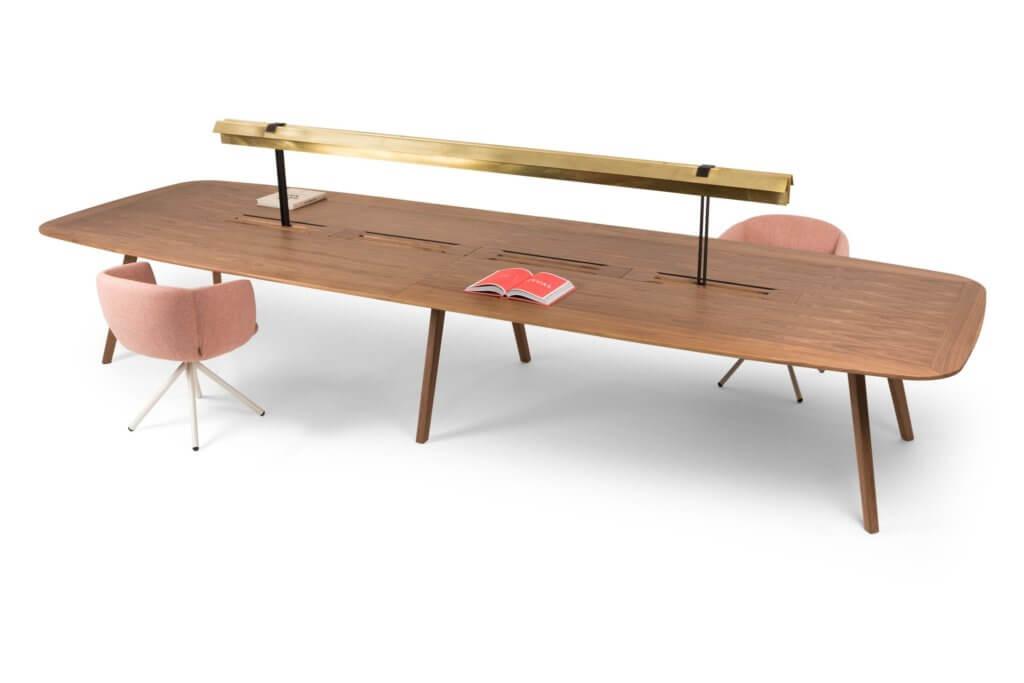 Grande table de réunion haut de gamme WISE