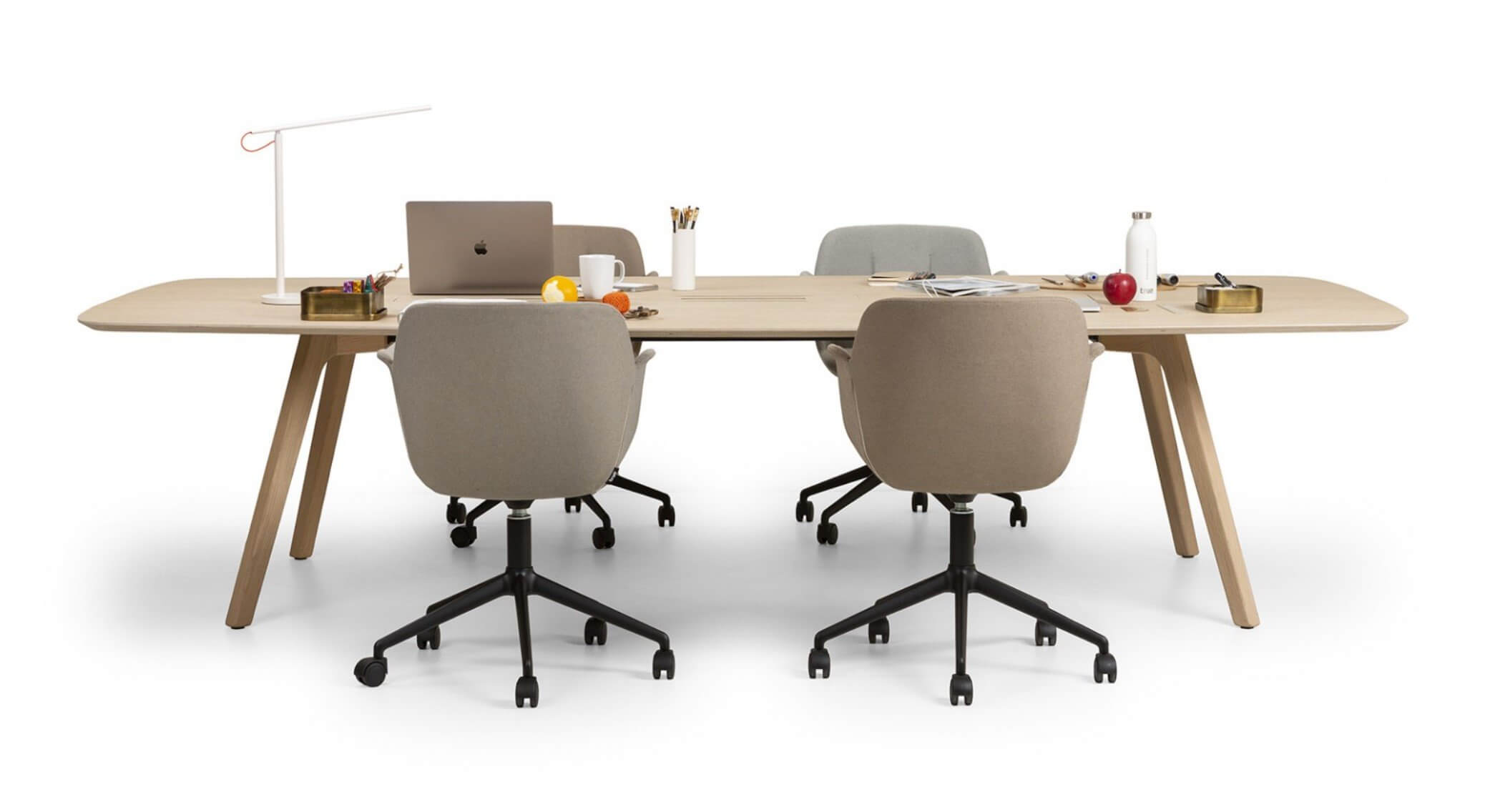 Bureau design en bois WISE