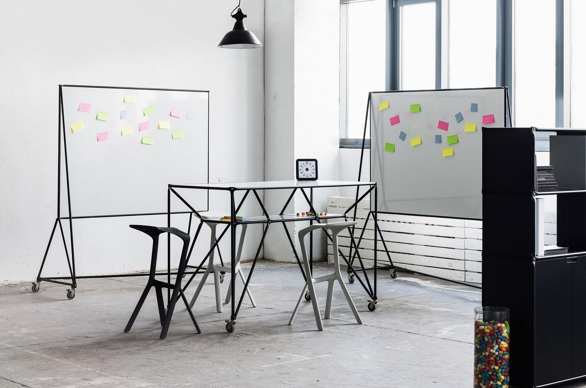 Table haute modulable DT
