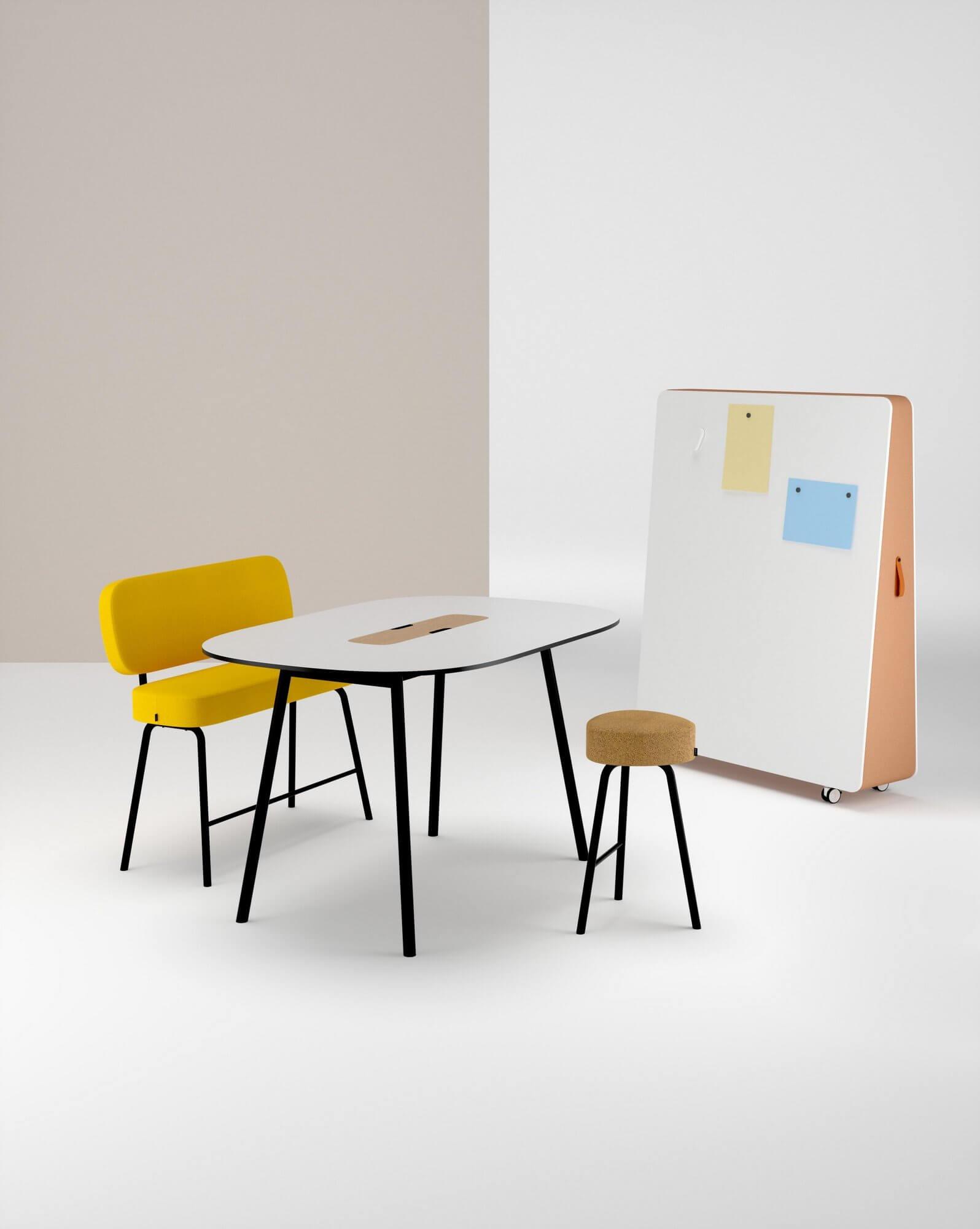 Table de réunion design moderne PULLY.