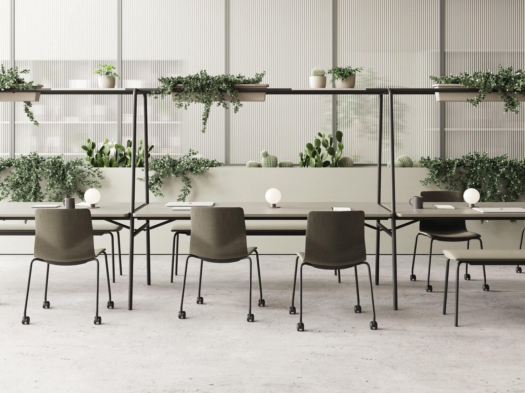 Table design pour le coworking ARCHE