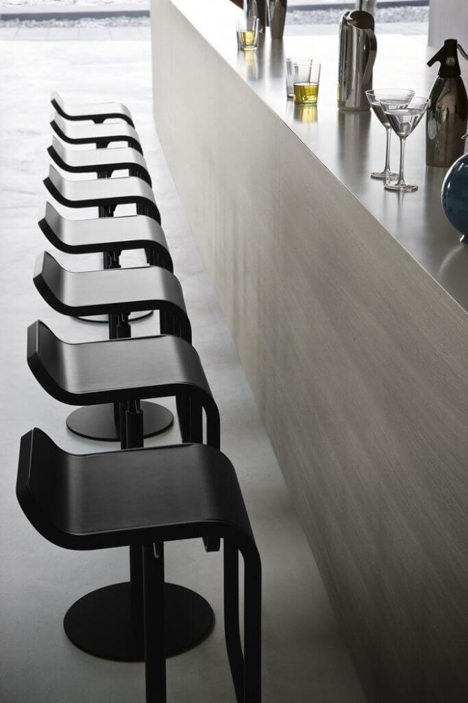 Chaise haute pour table bar de luxe