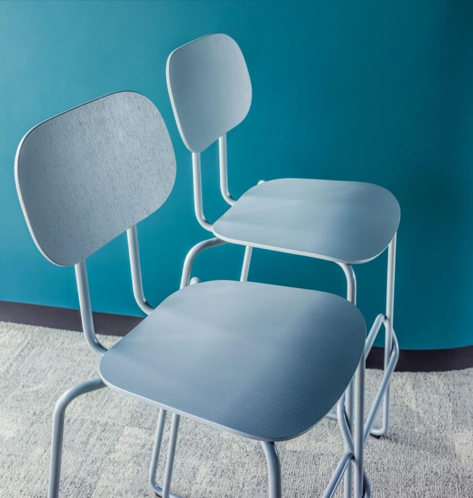 Tabouret design économique SCHOOL