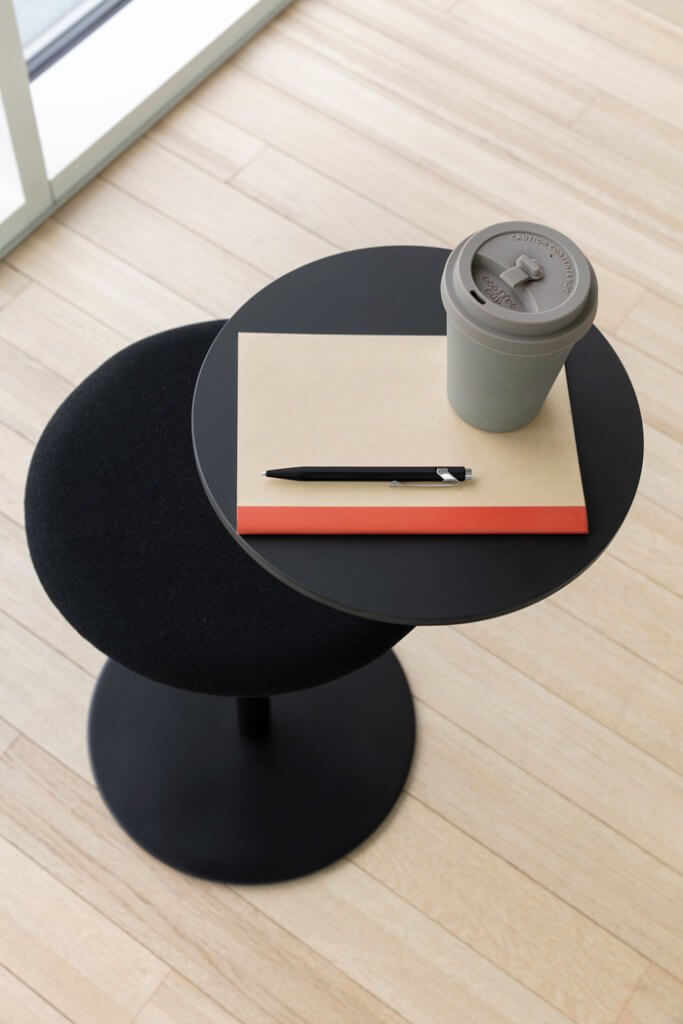 Tabouret de cafétéria design