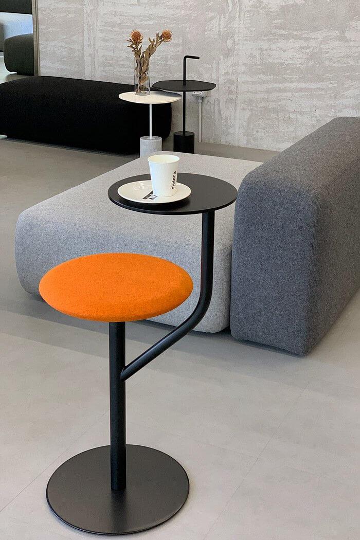 Tabouret design coloré AARON