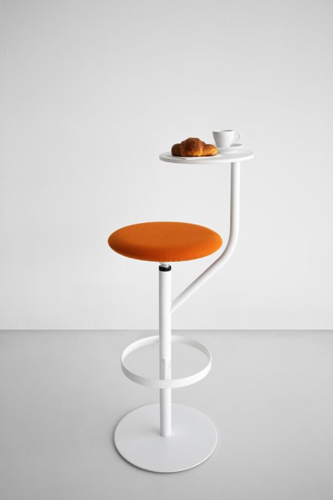 Tabouret pivotant design AARON